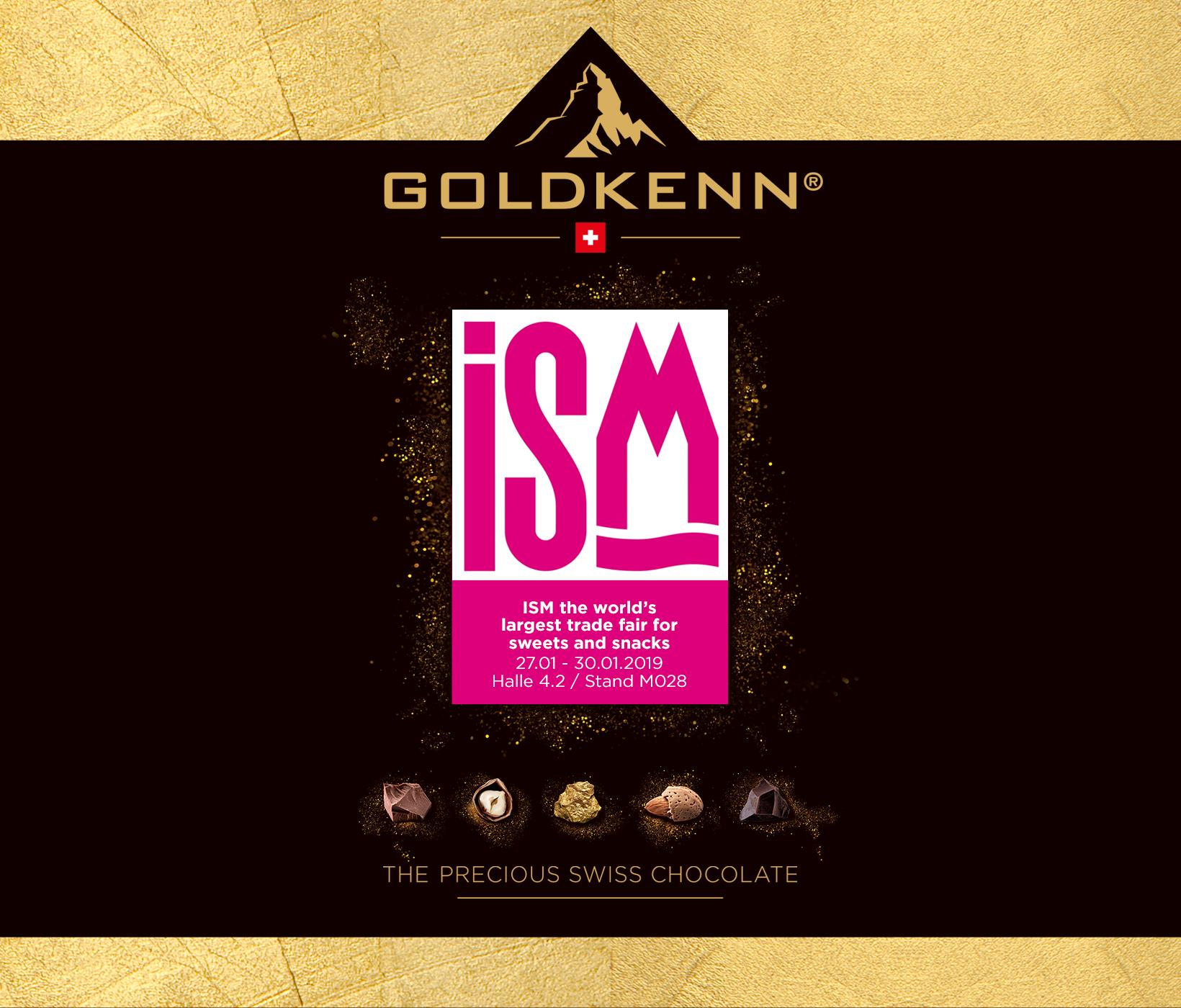 GOLDKENN à l'ISM, Cologne (DE)