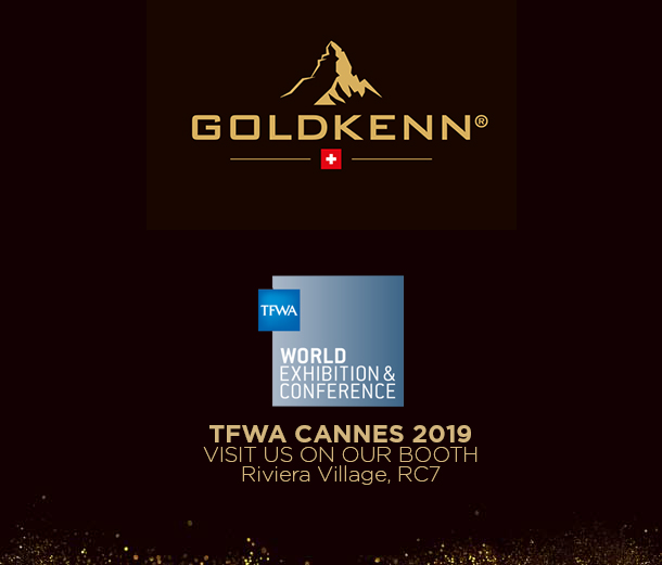 GOLDKENN attending TFWA (Tax Free World Association) in Cannes, France this year again