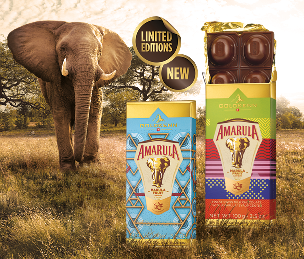 New : Limited Edition Amarula packaging