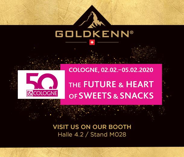 Goldkenn à l'ISM de Cologne en 2020